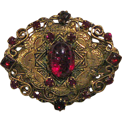 Original by Robert Pin Garnet Colored Stones