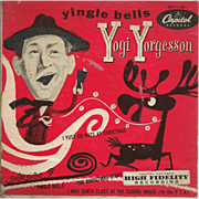 Christmas Record Yingle Bells by Yogi Yorgesson Capitol Records EAP-1-461