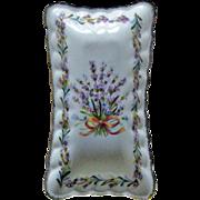 Flambro Bone China Pin Dish Sweet Lavender Pattern