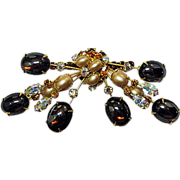 Schauer Fifth Avenue Atomic Large Dimensional Brooch Pin