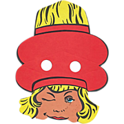 Vintage Buster Brown Shoe Company Yakety Yak Giveaway: Buster Brown Premium: Vintage Paper Collectible