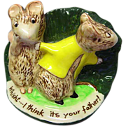 Kitty MacBride Guilty Sweethearts / Beswick Mice Figurine / Collectible Figurine / Beswick Figurine