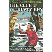 Dana Girls Mystery The Clue of The Rusty Key by Cariolyn Keene