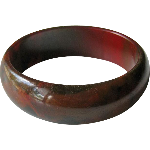 Bakelite Bangle Bracelet End of Day Estate Bracelet
