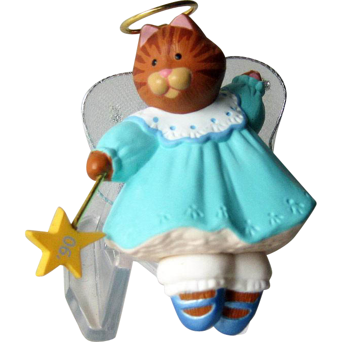 Hallmark Ornament Angel Kitty  / Artists Favorite Hallmark Ornament