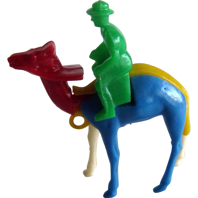 Puzzle Key Ring / Puzzle Key Chain / Main Riding Camel / Collectible Puzzle / Vintage Puzzle