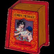 Vintage Valentine's Day Card / Cupid's Message / Cupid Valentine / Collectible Valentine / Vintage Valentine