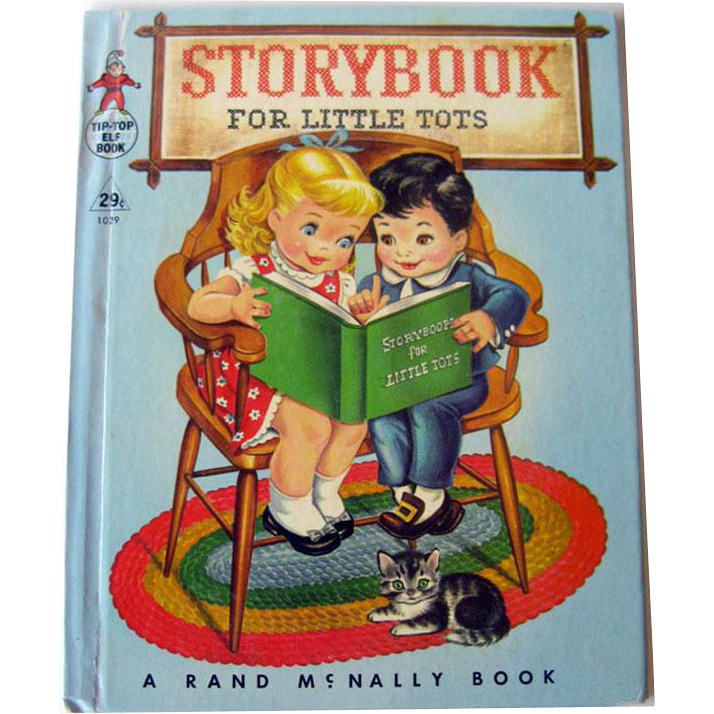 Story Book for Little Tots / Illustrated Children's Book / Bedtime Stories / Tip-Top Elf Book