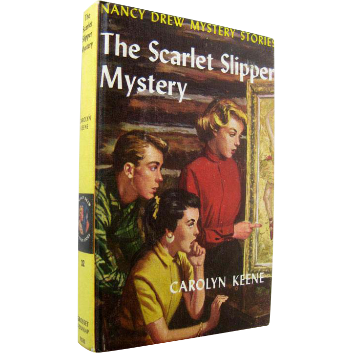 The Scarlet Slipper Nancy Drew Mystery