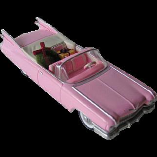 Hallmark 1959 Cadillac De Ville Ornament / Classic American Cars Series / Pink Cadillac