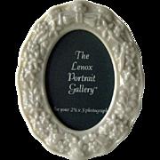 Lenox Portrait Gallery Frame / Porcelain Frame / Lenox