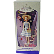 Midge Hallmark Ornament/ Suburban Shopper / Handcrafted Ornment / 35th Anniversary Ornament