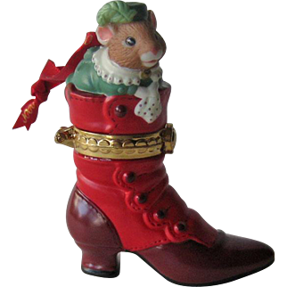 Fashion Afoot Hallmark Ornament / First in Series / Christmas Ornament / Christmas Decor / Holiday Ornament