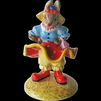 Clarissa the Clown Bunnykins / Royal Doulton Bunnykins / Royal Doulton DB331 / Collectible Figurine
