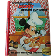 Cooking with Mickey around our world / Mickey Mouse Cookbook /  Disney World Recipes