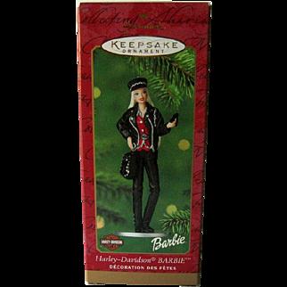 Harley-Davidson Barbie / Hallmark Barbie / Hallmark Ornament / Collectible Ornament
