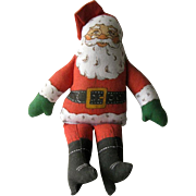 Hallmark Santa Doll / Cloth Santa / Hallmark Christmas / Collectible Santa / Vintage Santa
