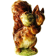 Beatrix Potter Beswick Squirrel Nutkin  Figurine