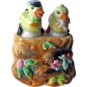 Anthropomorphic Duck Nodder Shakers - Rare Nodder Shakers - Housewarming Gift
