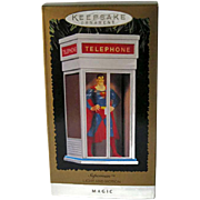 Hallmark Superman Light and Motion Ornament / Superman Ornament / Magic Ornament / VIntage Hallmark Ornament / Christmas Decor