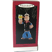 Popeye the Sailor Man Christmas Ornament