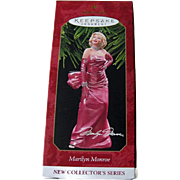 Marilyn Monroe Hallmark Ornament New Collectors Series Number One