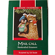 Hallmark Mail Call Ornament - Mailman Christmas Gift
