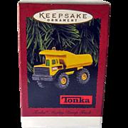 Vintage Tonka Mighty Dump Truck  Hallmark Ornament