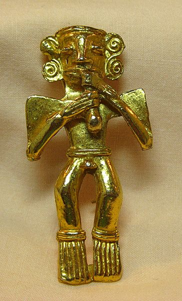 Hattie Carnegie Ancient Museum Figure Pin