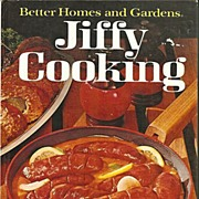 Better Homes and Gardens Jiffy Cooking Cookbook