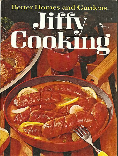Better Homes And Gardens Jiffy Cooking Cookbook From