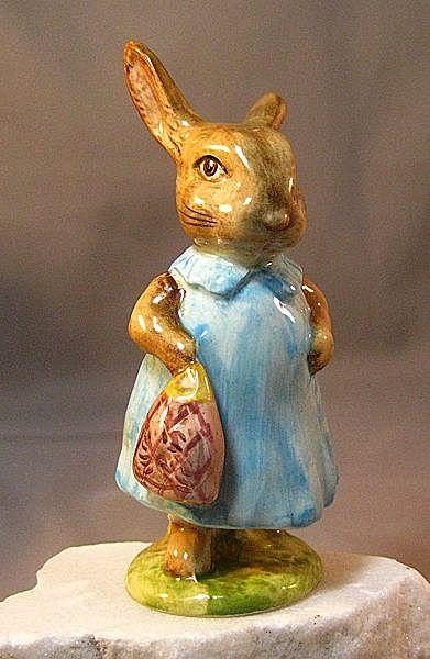 Beatrix Potter Figure Mrs. Flopsy Bunny Beswick England