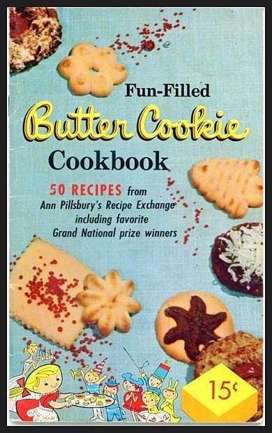 Fun-Filled Butter Cookies Cookbook by Pillsbury