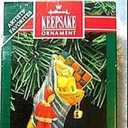 Hallmark Tin Ornament Stocked With Joy - Christmas Stocking