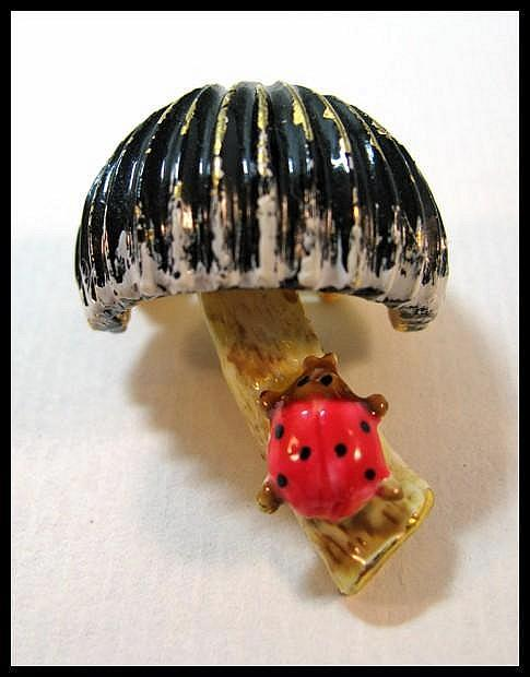 Original by Robert Pin - Mushroom with Lady Bug