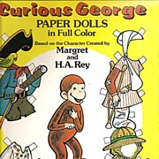 Curious George Paper Dolls in Full Color - Margaret & H.A. Rey, Designed by Kathy Allert