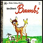 Walt Disney's Bambi - Little Golden Book