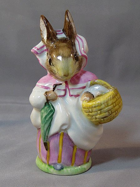 "Beatrix Potter's ""Mrs. Rabbit"" Figure by Beswick"