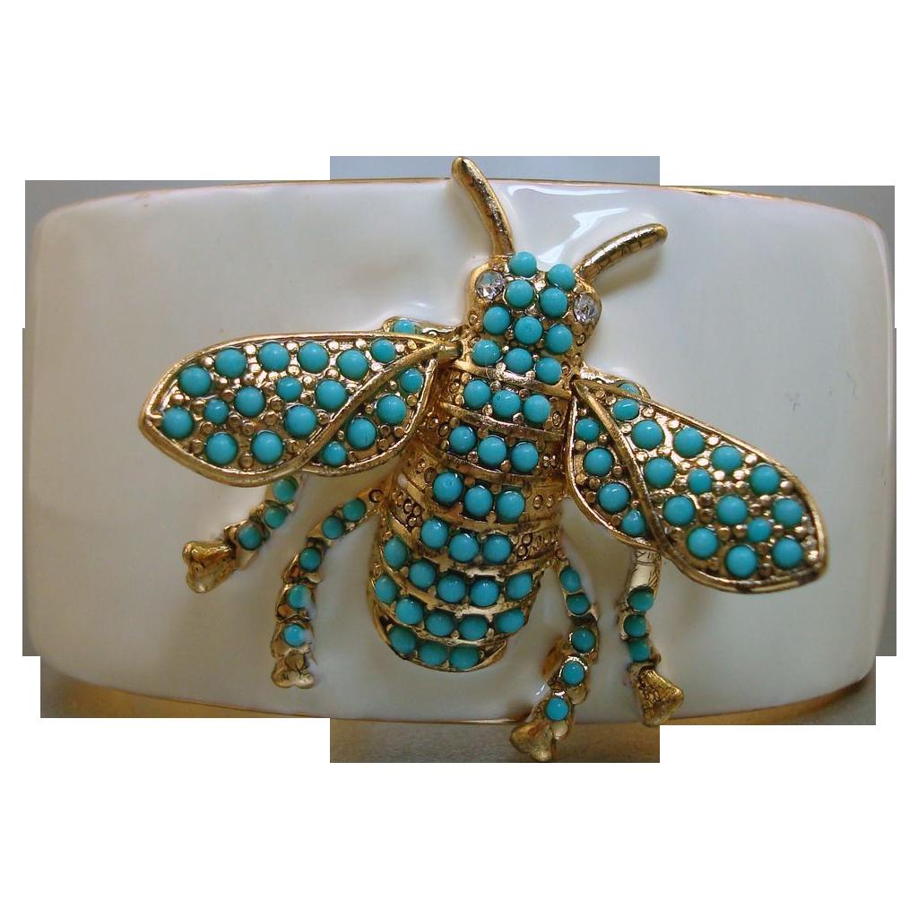 Kenneth J Lane Bee Cuff Bracelet