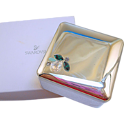 Retired Swarovski Jewel Box
