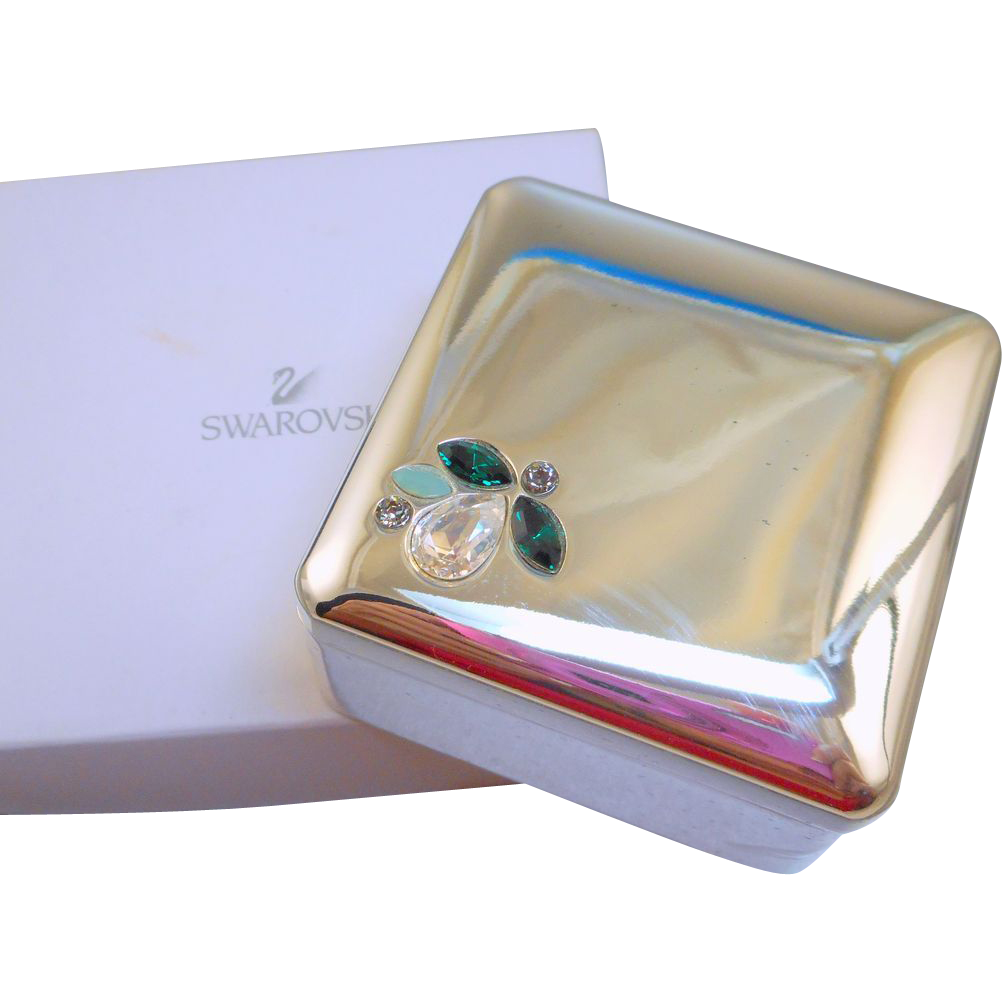 Retired Swarovski Jewel Box