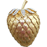 Panetta Strawberry Brooch