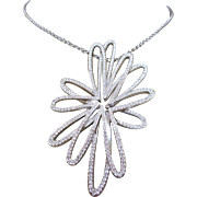 Swarovski Flower Necklace