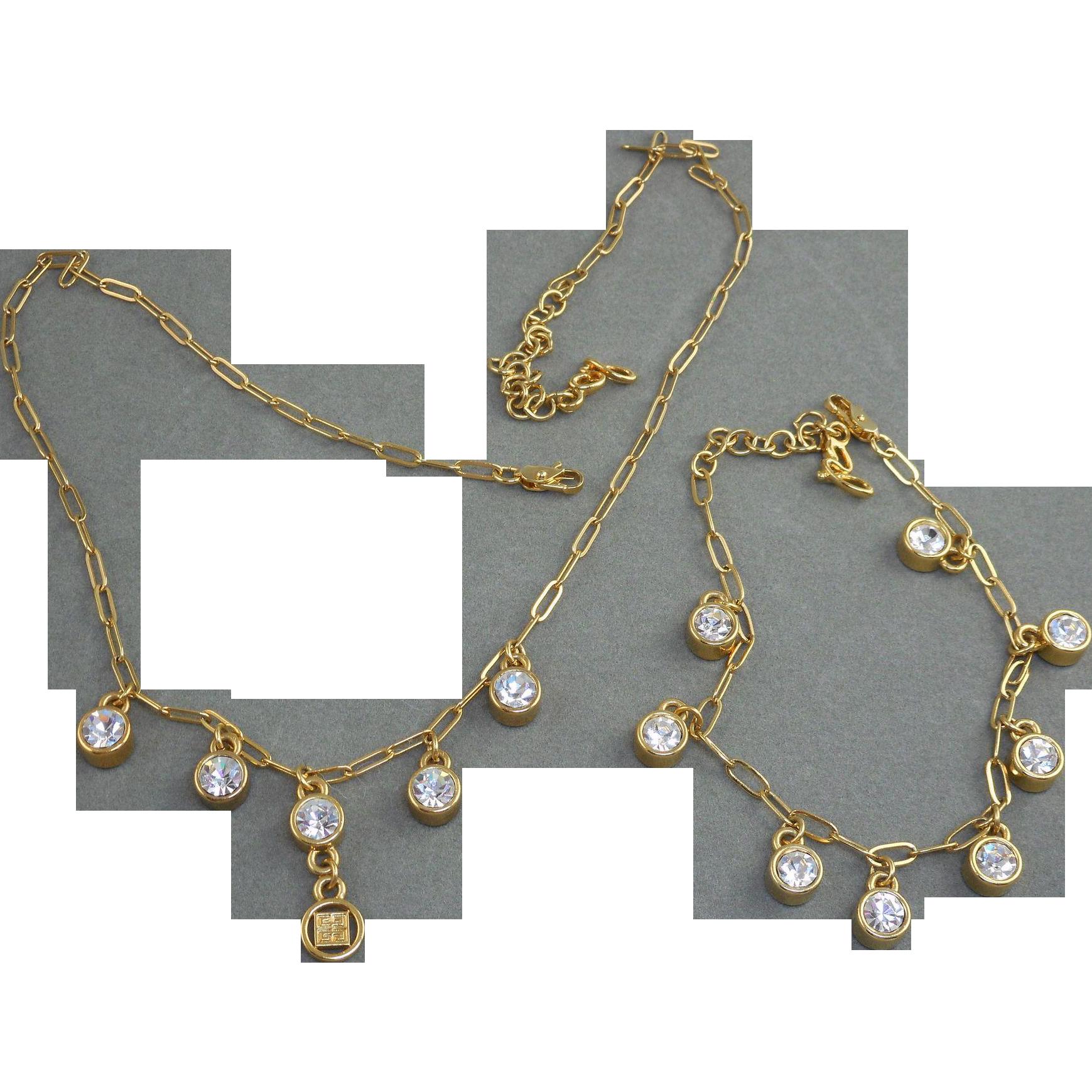 Givenchy Necklace Bracelet