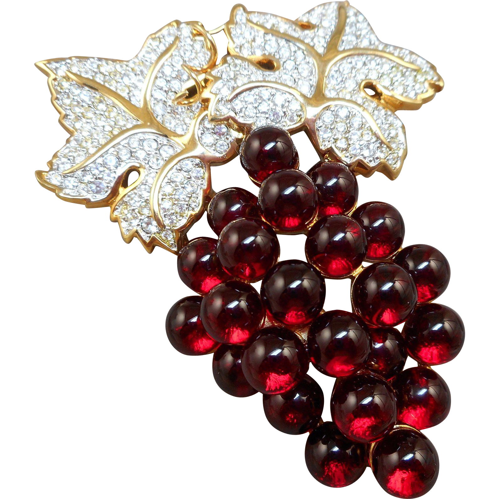 Swarovski Grapes Brooch - S.A.L.
