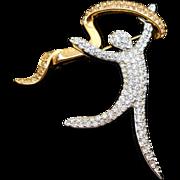 Swarovski Joy Dancer Brooch