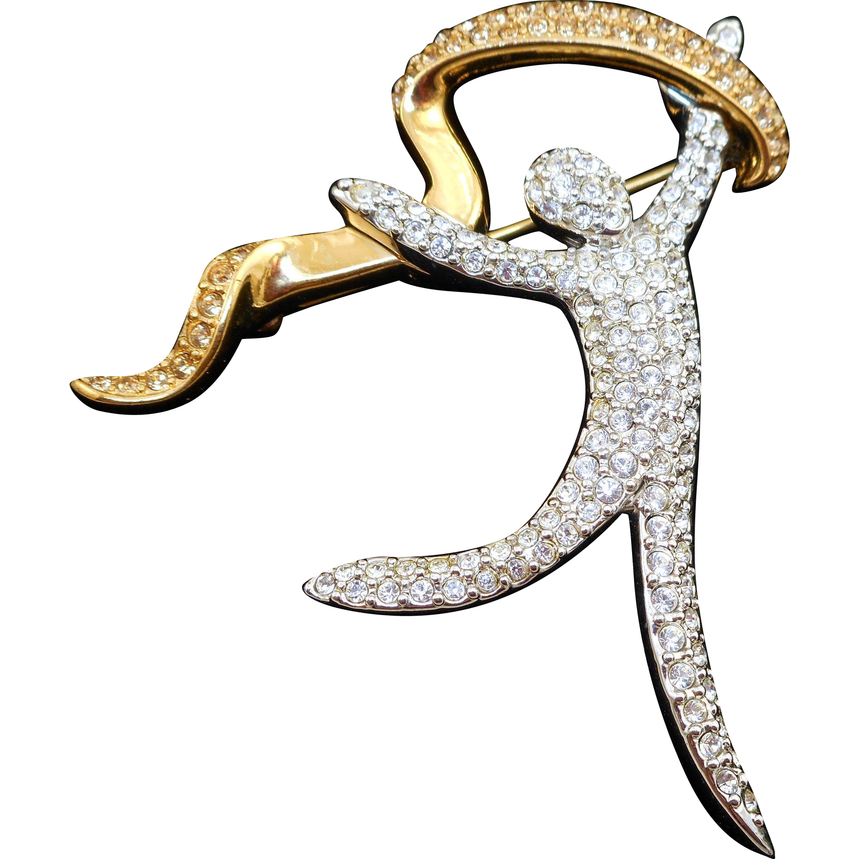 Swarovski Joy Dancer Brooch