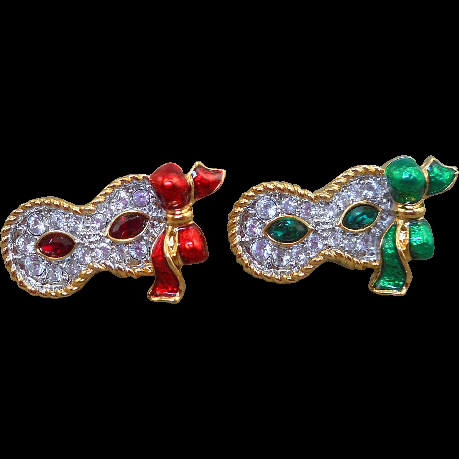 Swarovski Mask Pins