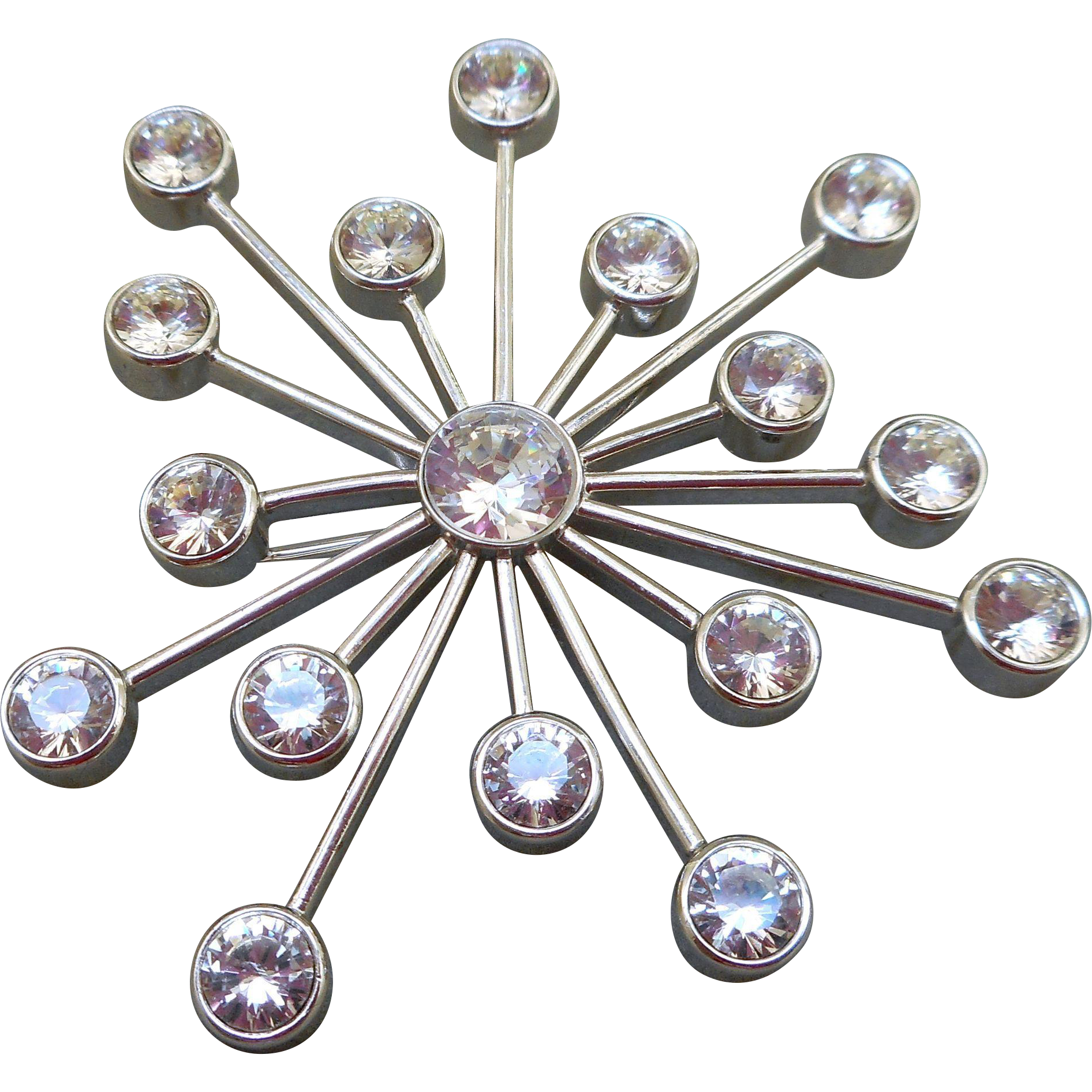 Swarovski Atomic Brooch