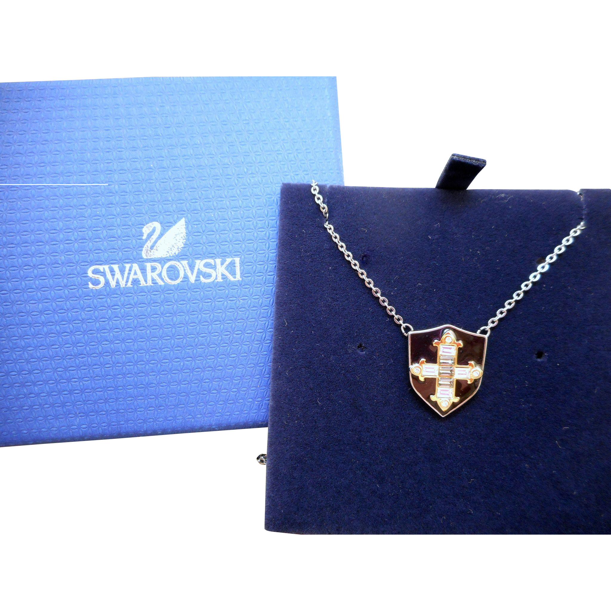 Swarovski Shield Necklace